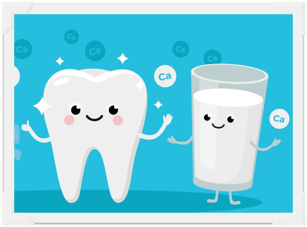 зубы и кальций